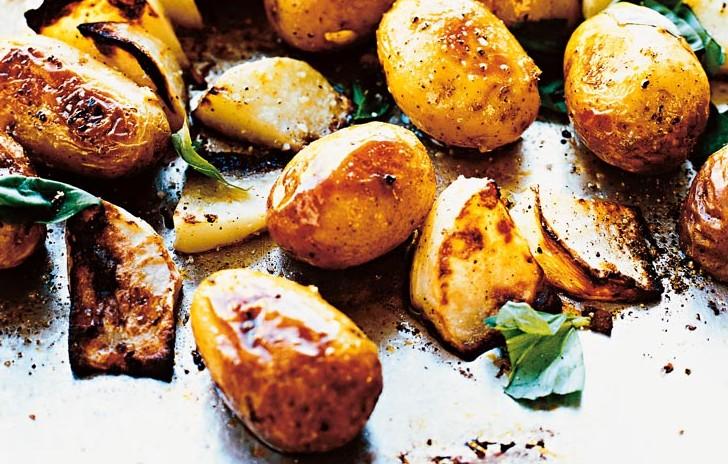 Potatismos med färskpotatis